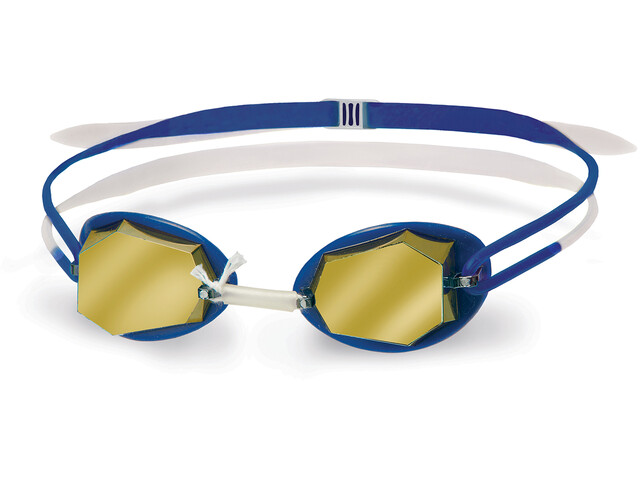 Head Diamond Mirrored Goggles White-Blue-Blue